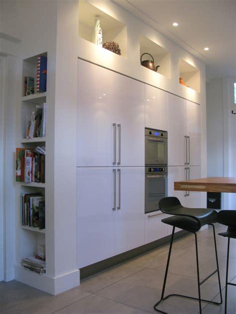 vrijstaande keukenkast renovatie villa utrecht boks architectuur
