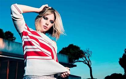 Scarlett Johansson Celebrity Wallpapers Sweater Stripes 1200