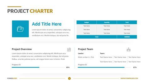 project charter template  edit  powerslides