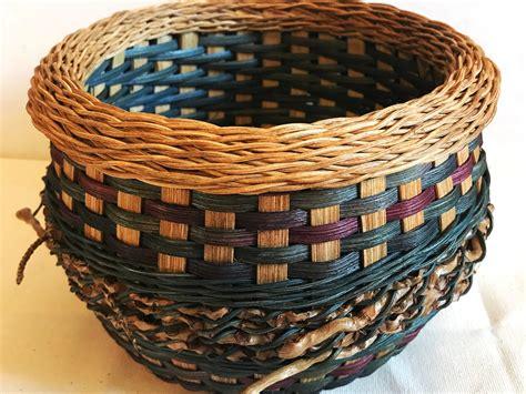 basket weaving  intermediate  advanced techniques