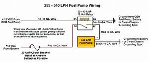 255 Lph Or Larger Fuel Pump Wiring Diagram