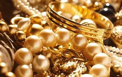 Jewelry Background Desktop Wallpapers Backgrounds Pearl Golden