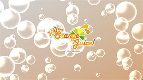 100 Orange Juice Wallpaper 100 orange juice pc gamecola