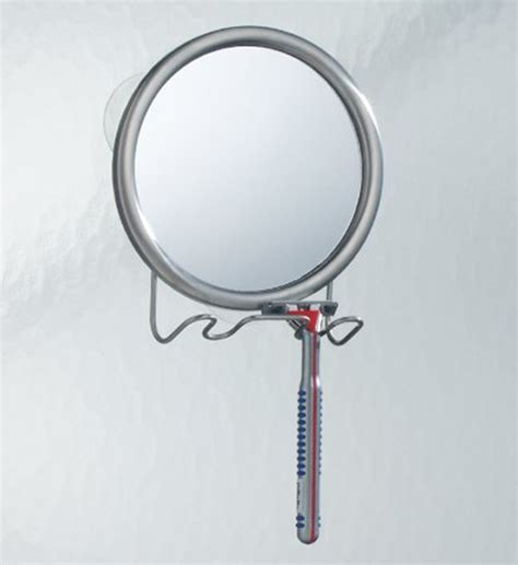 Bathroom Suction Mirror by Fog Free Suction Mirror In Shower Mirrors