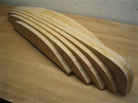 Model Boat Hull Construction by Bread And Butter Model Boat Building