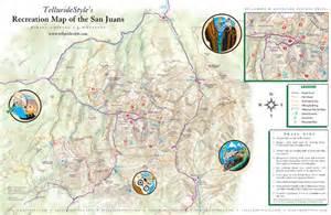 San Juan Mountains Trail Maps