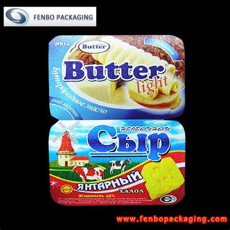 aluminium foil lid suppliers butter packaging