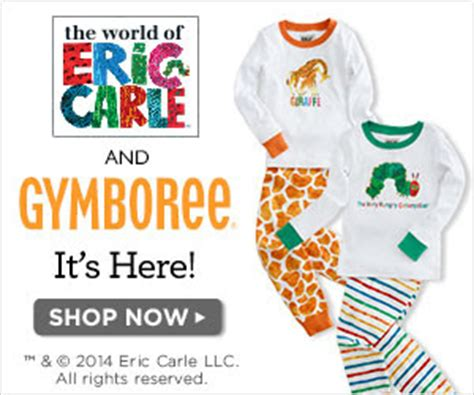 66063 912 Food To Go Coupon by The Eric Carle Collection At Gymboree
