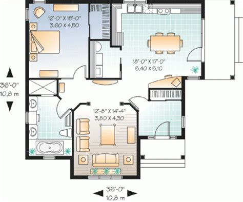 one room house floor plans smart way for designing one bedroom home plans home decoration ideas