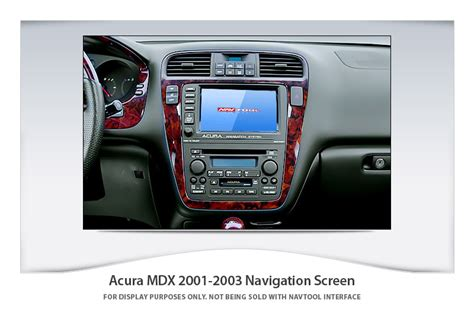 2002 Acura Mdx Navigation System by Acura Mdx 2001 2002 Navigation Interface