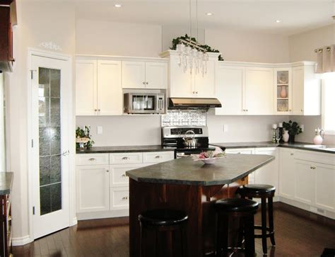 pictures of kitchens with islands one wall kitchen layout with island kitchen design