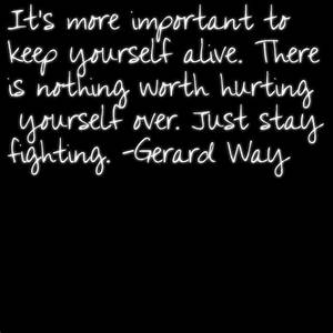 Gerard Way Quotes About Suicide. QuotesGram