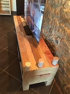 Meuble TV De La Palette Pallet Ideas: Recycled
