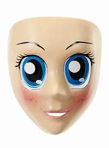 Anime Mask with Blue Eyes - maskworld com
