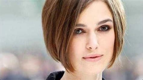 Short Bob Hairstyle For Round Face