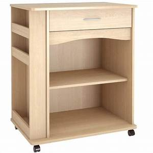 Microwave Cart in Natural Maple - 597