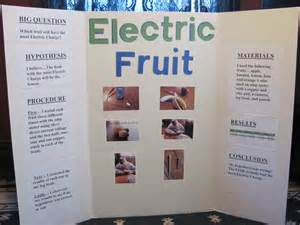 science fair projects he estimated the lemon would but