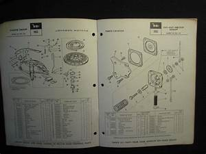 Purchase 1963 Johnson Outboard Motor 28 Hp Parts Catalog