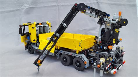 lego ideas product ideas remotely controlled crane truck