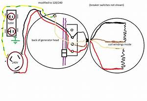 Converting 120v Only Generator To 120  240
