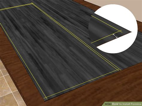 how do you cut laminate countertop sheets 3 ways to install formica wikihow