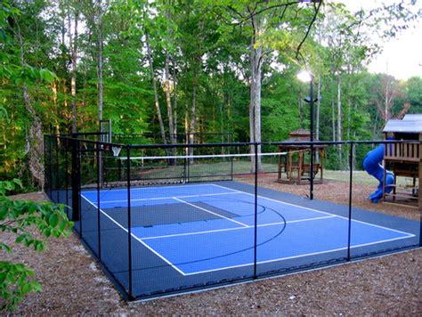 backyard sports ideas backyard ideas sports field game court ideas guide install it direct