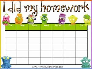 Homework Reward Chart Abc 39 S 123 39 S Learning