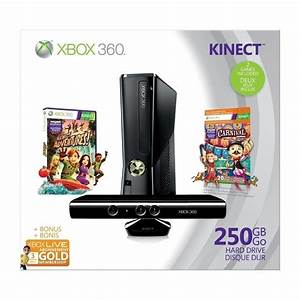 Deal of the Day: Microsoft Xbox 360 S 250GB Kinect Holiday ...