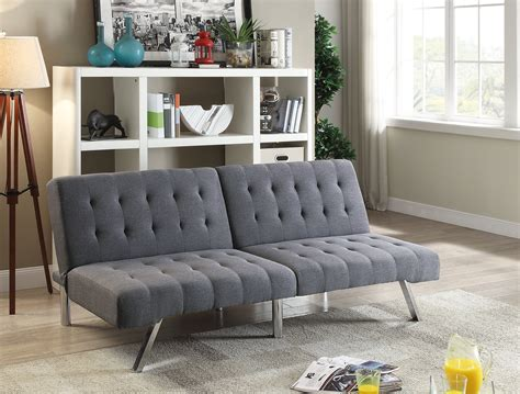 Index Sofa Bed by F6825 Blue Gray Convertible Sofa Bed By Poundex