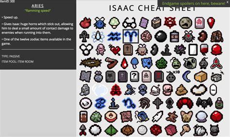 issac cheat sheet binding of isaac cheat sheet html myideasbedroom com