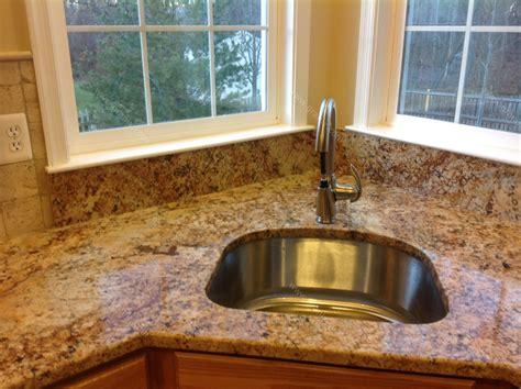 backsplash for kitchen with granite diana g solarius granite countertop backsplash design
