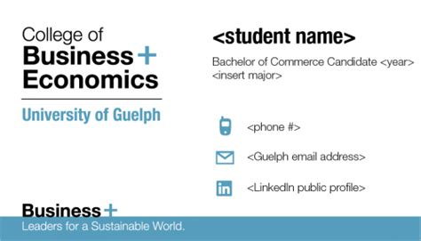 ordering business cards college  business  economics