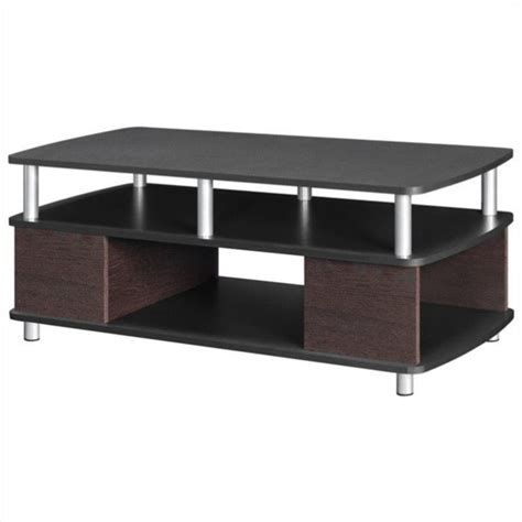 Altra Furniture Carson Coffee Table With Storage In Cherry