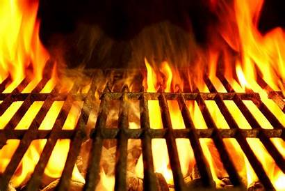 Grill Background Barbecue Flaming Close Barbeque Rumi