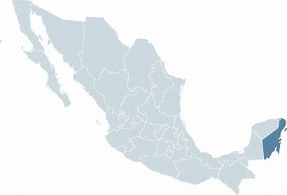 Roo Quintana Map Mexico