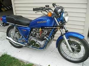 1977 Suzuki Gs 550 Project