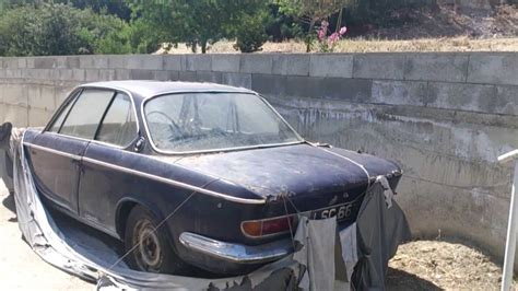 An Abandoned 1967 Bmw 2000 Spotted In Cyprus.