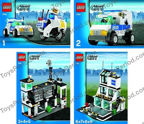 Lego 7744 Police Headquarters Set Parts Inventory And