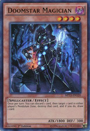 doomstar magician mp15 en120 ultra rare 1st edition