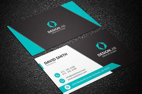 Busness Card Template by Modern Business Cards Templates Business Card Design