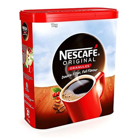 Agglomerated coffee is also called coffee granules. Nescafe Original Instant Coffee Granules 1 kg   Approved Food