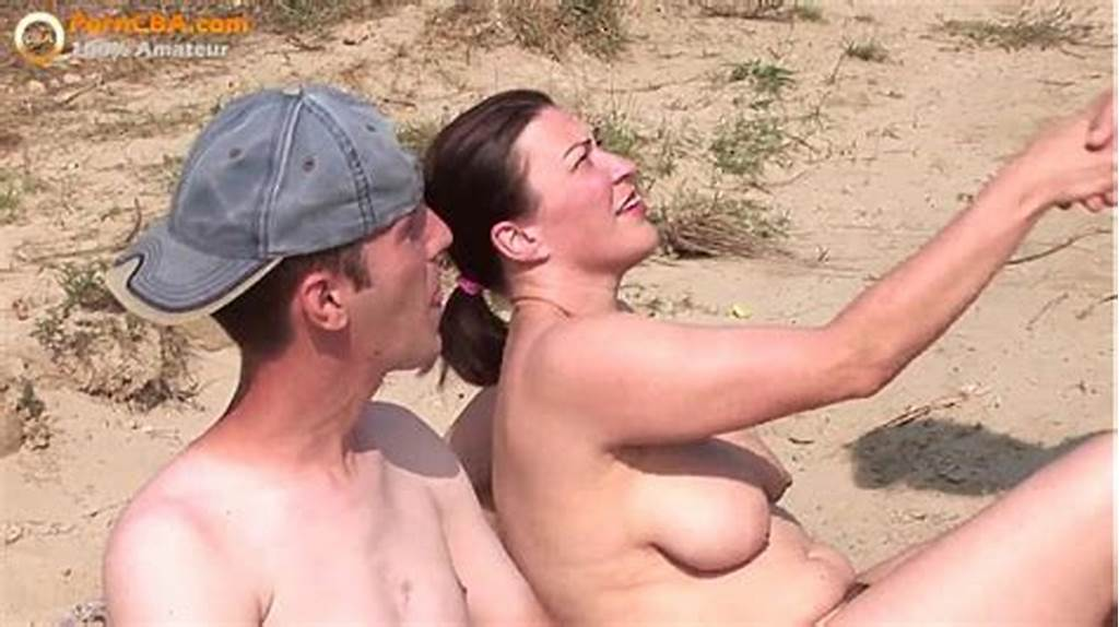 #Real #Amateur #Threesome #On #The #Beach