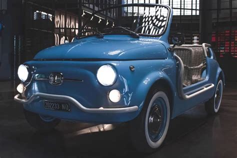 Fiat Garage by Fiat 500 Jolly Goes Electric With Garage Italia Curbed