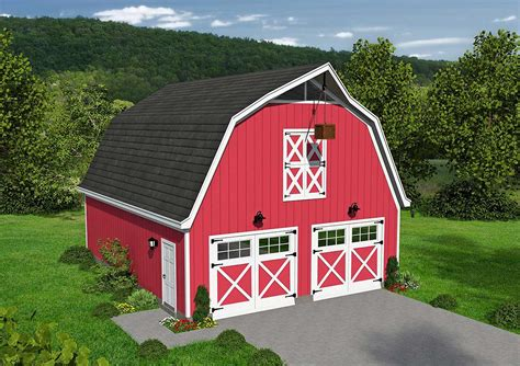 barn style shed with loft classic barn style garage with loft 68477vr