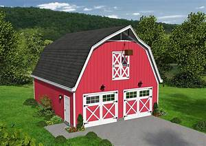 classic barn style garage with loft 68477vr With barn looking garage
