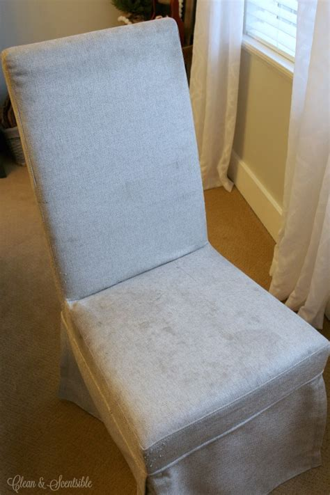 How To Clean Dining Room Chairs - how to clean upholstered chairs clean and scentsible