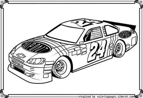 nascar coloring pages for coloring home