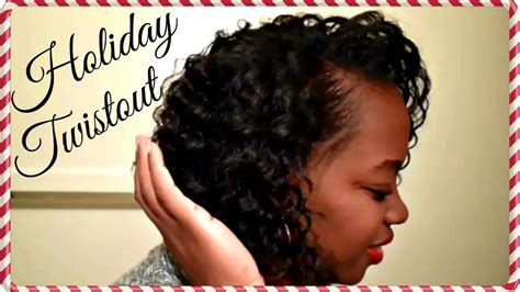 Flat Twistout On Wet Relaxed Hair