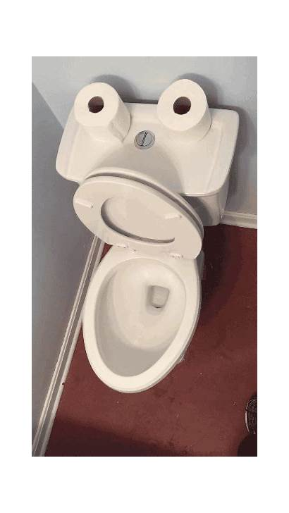 Toilet Pooping Animated Seat Toilets Gifs Step