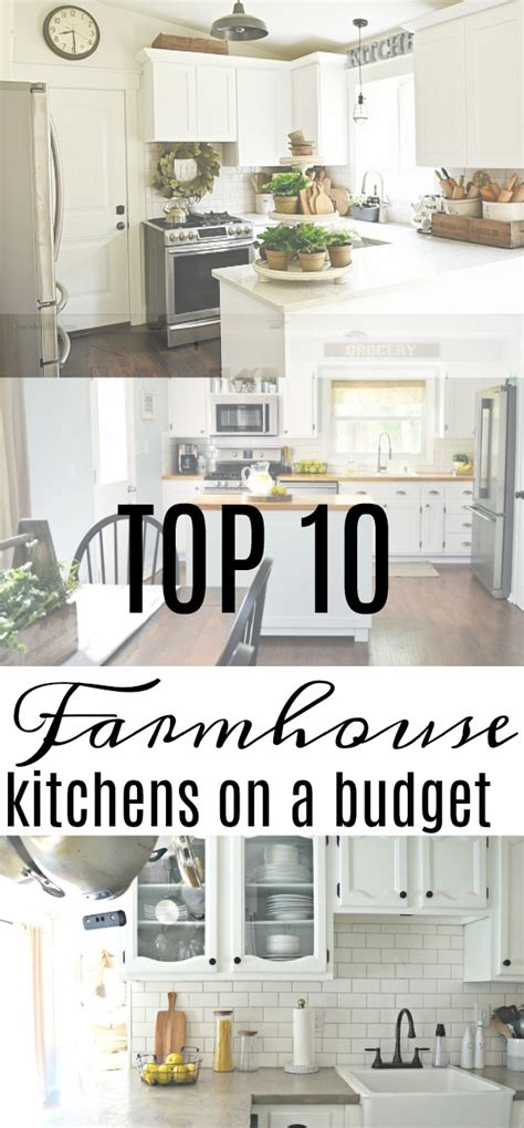60 farmhouse kitchen furniture ideas on a budget top 28 farmhouse kitchen ideas on a budget kitchen of